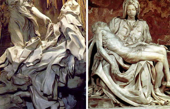 Bernini vs. MIchelAngelo