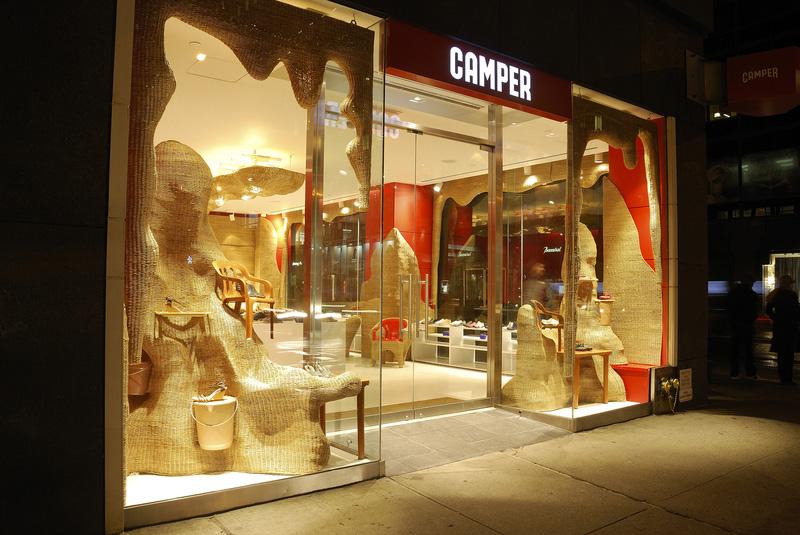 A Campana brothers designed Camper store