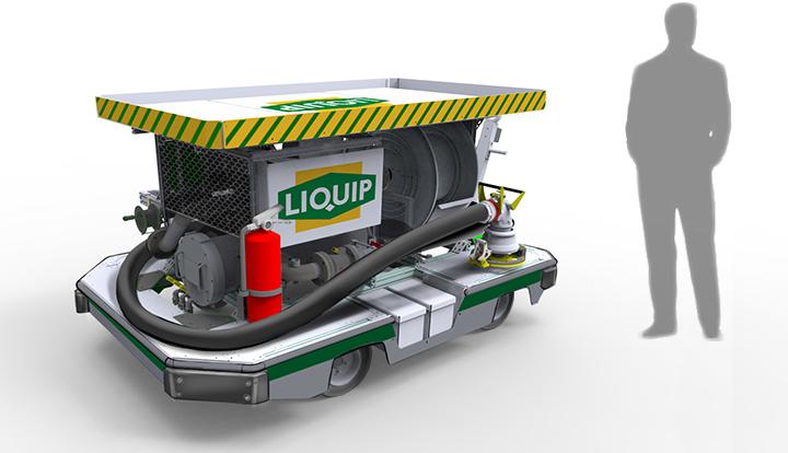 Liquip Refueling Hydrant Cart