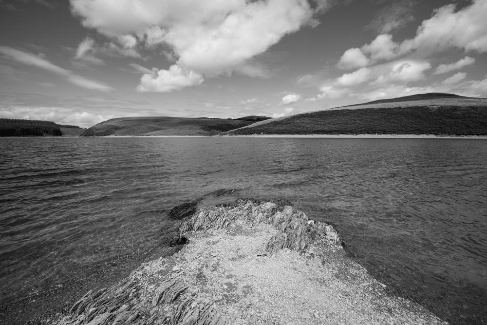 LLyn Clywedog Lake, Wales, UK