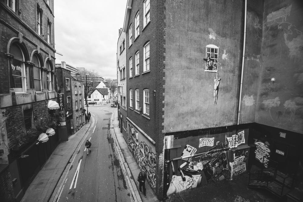 Banksy - Bristol, UK