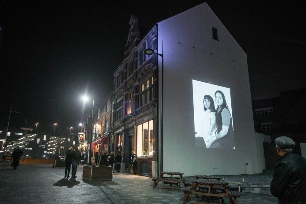 Mother and Child Projection, Bute Street, Luton, UK