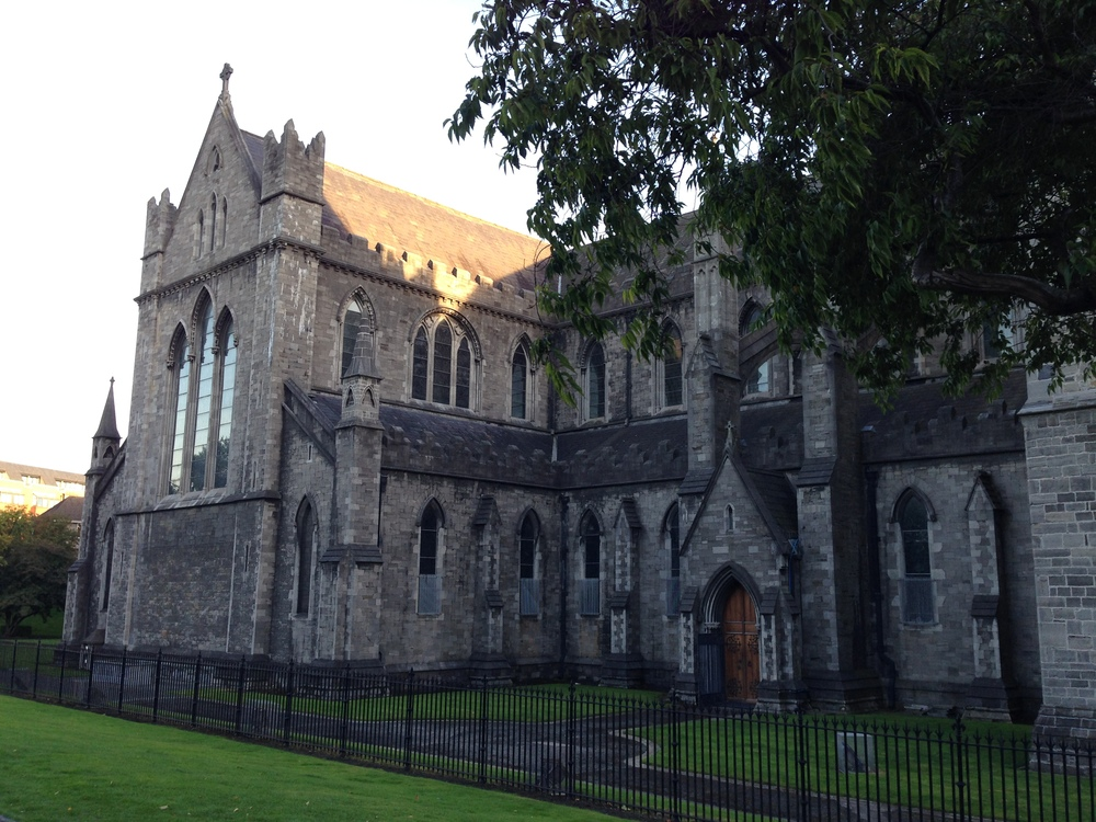 St. Patrick's Cathedral in Dublin.