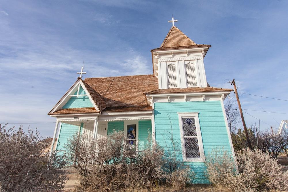 St. Stephens Episcopal Church in Fort Stockton.