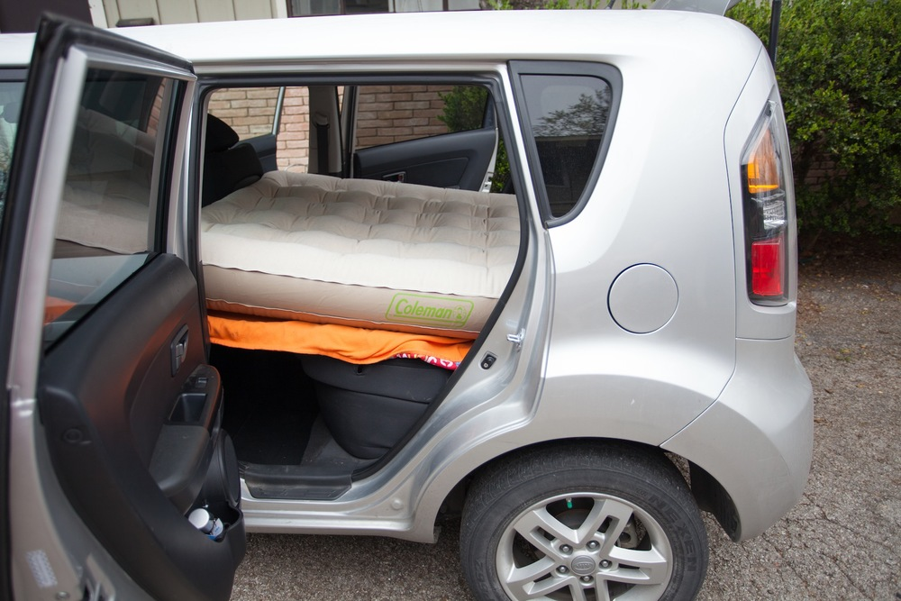Can You Sleep Or Camp In A Kia Soul Yes You Can