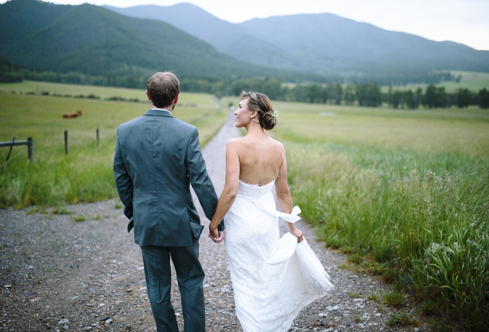 SPRINGHILL MONTANA WEDDING ➳ HILARY & WALTER