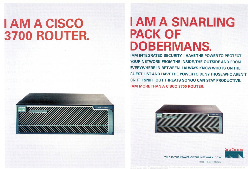 Cisco Advertisement