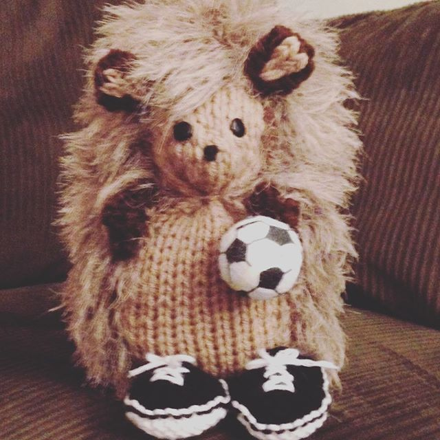 Don't forget about this absolutely adorable Louis hedgehog that will be going up for auction this weekend on our website and Tumblr! All proceeds go to the lovely @edendoratrust ! 🐾⚽️