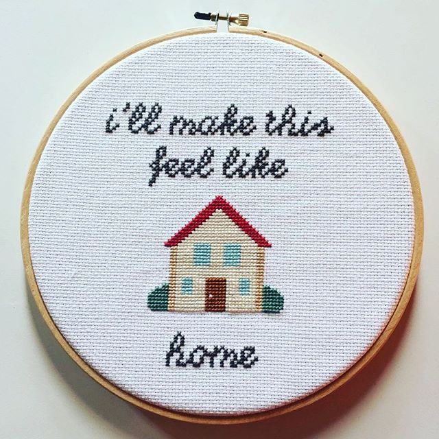 This adorable little cross stitch is up for auction today! Go bid now to get your hands on it. (Check our Twitter or Tumblr for more details.)