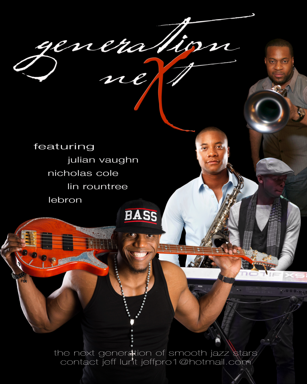 Lebron wil be touring the Festival circuit in 2014 with fellow Trippin' and Rhythm artists Julian Vaughn, Nicholas Cole, and Lin Rountree.