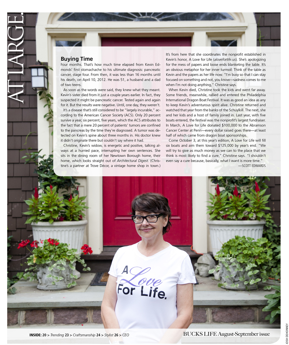 BUCKS LIFE August-September issue
