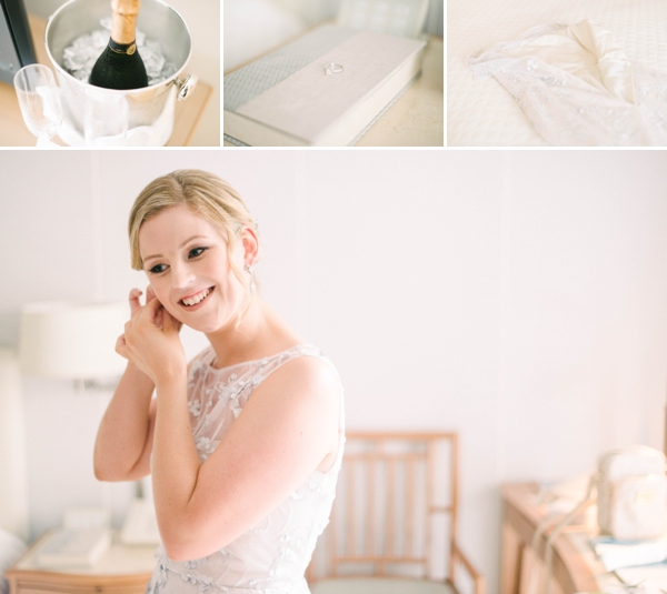 champagne, wedding details and an Australian bride by Melissa Wessel, Eloping to hawaii photographer