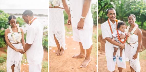 hawaii north shore vow renewal by melissa wessel, vow renewal photographer
