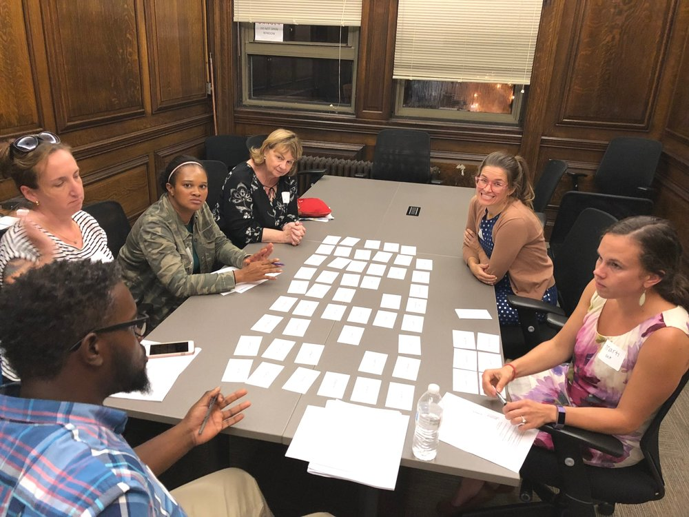 Setting the shared values with a set of DCP stakeholders