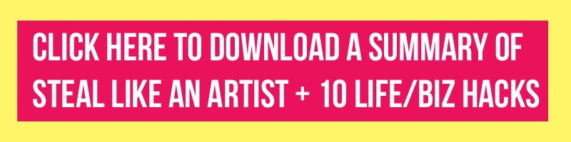 Steal like an artist summary download