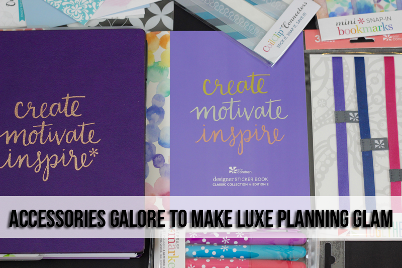 Luxe Business Planning featuring the new 2017 Erin Condren Luxe Life Planners. Read up on how you can use an 18 month calendar to plan your business in style.