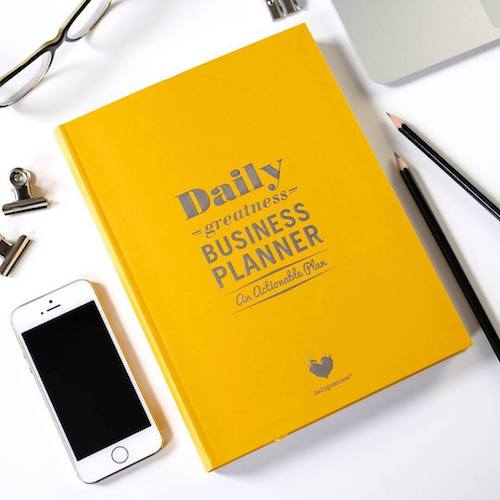 The 10 top planners for entrepreneurs and online business owners. | Via Biz Bestie