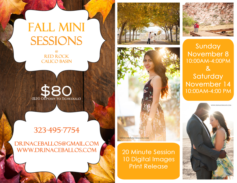 Fall Mini Session Las Vegas