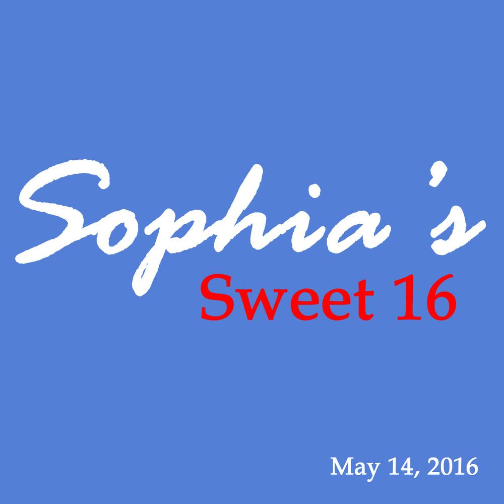 Sophia's Sweet 16