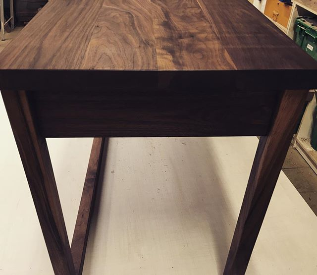 Sibling.  Solid hall table for a clients Cottage. 'Tis the season.