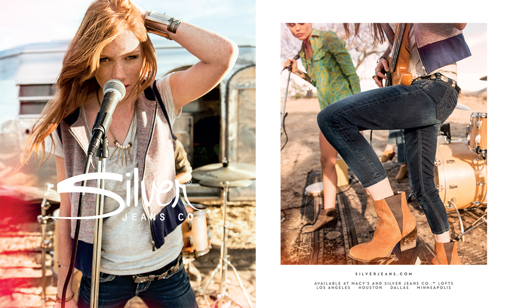 Silver Jeans Co.™ Spring Ads — Barry Monahan