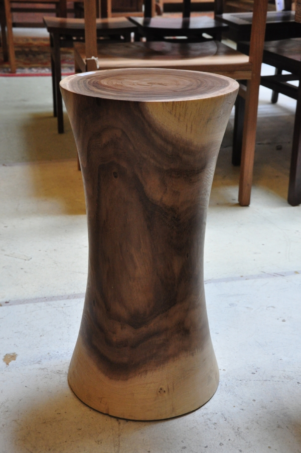 "Tirto Round Side Table   12""D x 21""H       Price: $250"