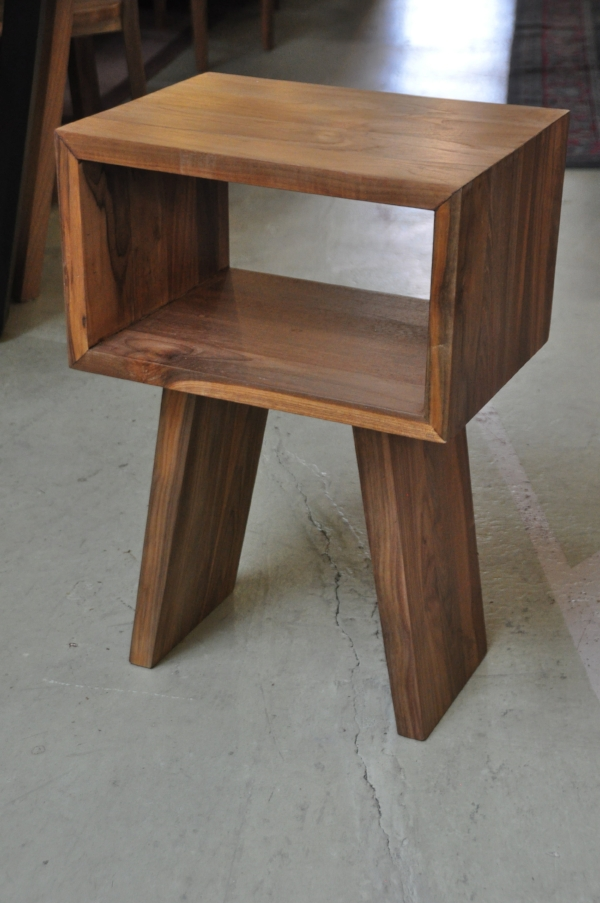 "Kotak Side Table    21""W x 16""D x 21""H     Price: $425"