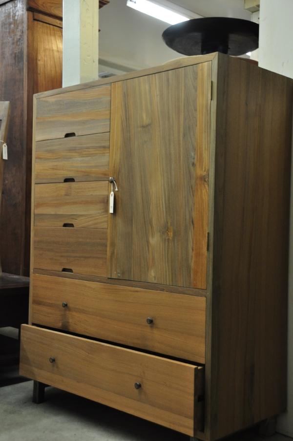 "Panca Cabinet   42""W x 20""D x 56""H   Price: $1,525"