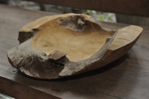 Teak Root Bowl    Price: $45