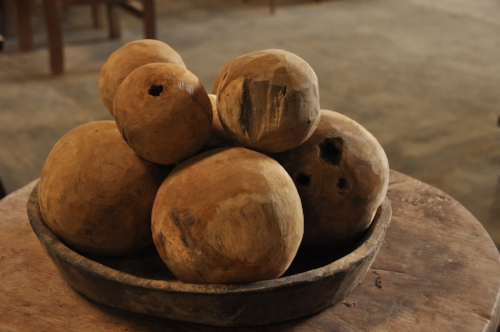 Teak Root Sphere    Price: $15
