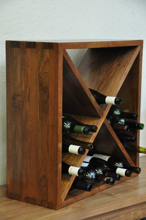 "Wine Box Price: $250, 24""W x 10""D x 24""H"