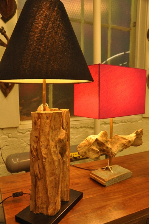 Teak Root Lamp    Price: $75-$215  (based on size)