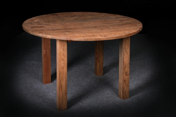 "Round   Dingklik Table     $1,100,  48""D x 30""H   $1,495,  60""D x 30""H"
