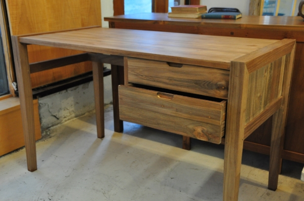 "2-Drawer Desk Price: $950 48""L x 24""D x 30""H"