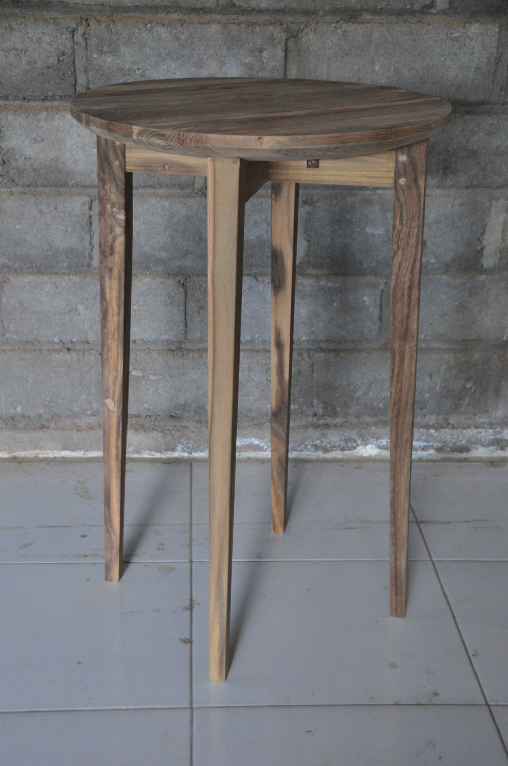 "Jarum Round Side Table    20""D x 30""H   Price: $370"