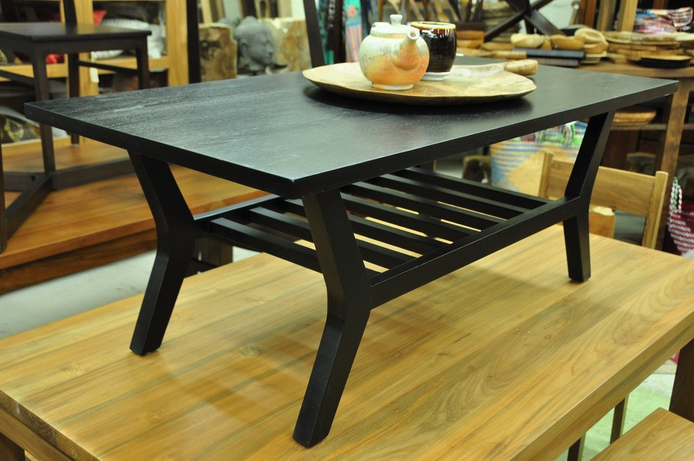 "Rak Coffee Table   48""W x 24""D x 18""H   Price: $695"