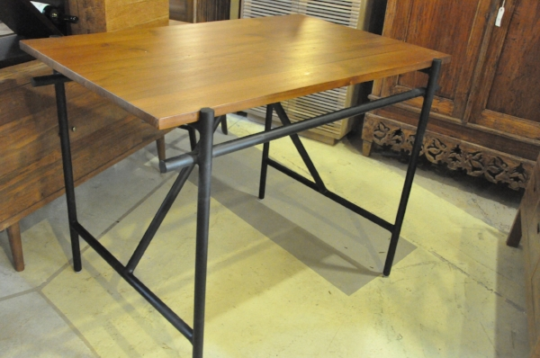 """Pipa Counter Table    Price: $850.00   48""""W x 32""""D x 36""""H"""