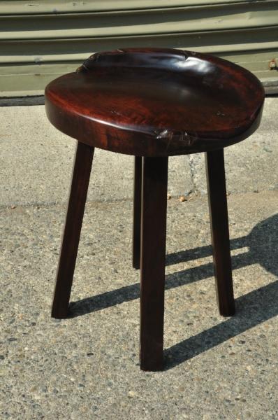 """Kuda Stool     Price: $175   18""""W x 17""""D x 18""""H"""
