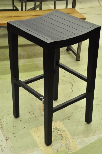 "Slatted Barstool     Price: $295   17""W x 17""D x 30""H"