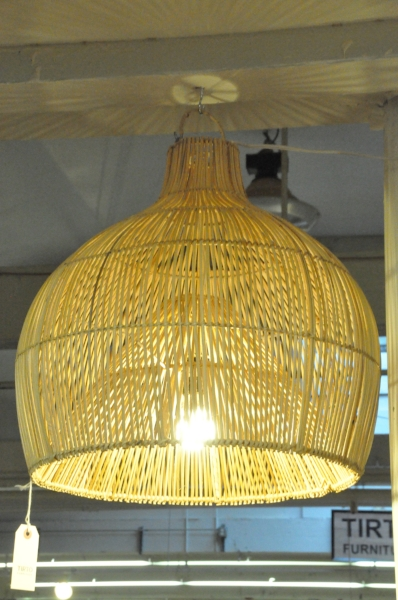 "Bali Lampshade Small   18""W x 18""D x 19""H   Price: $129.00"