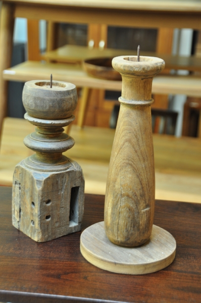 Table Leg Candle Holder   $20