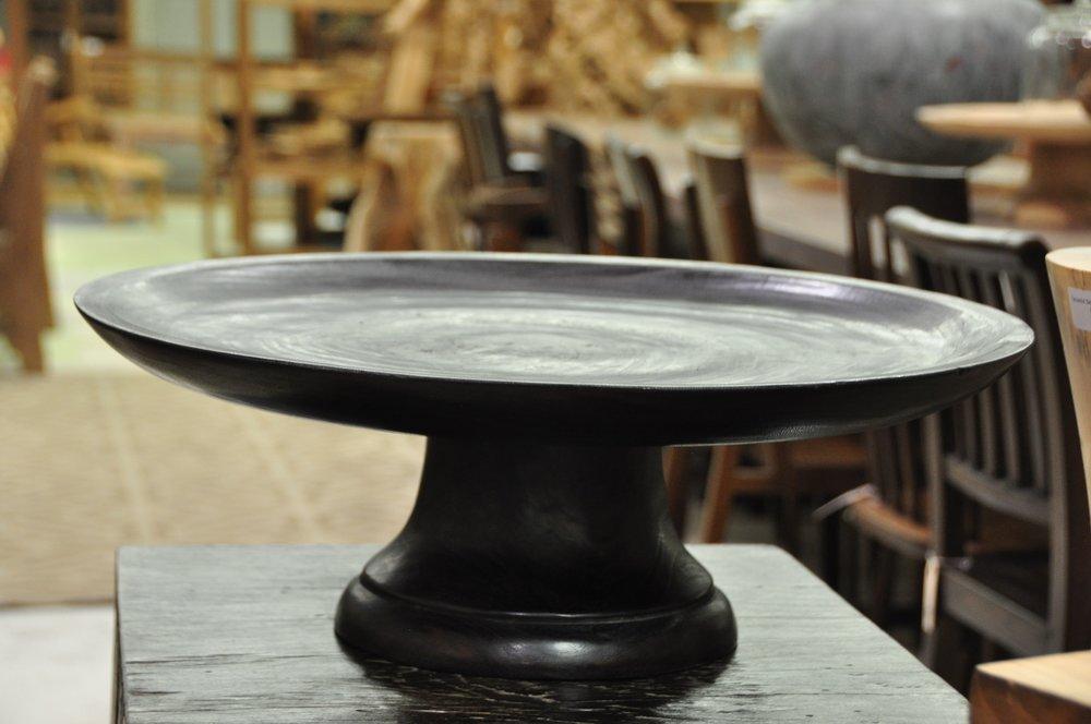 """Pedestal Platter    Price: $123 , 20""""D x 8""""H"""