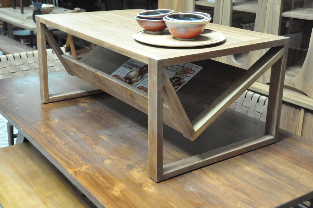 "Buku Coffee Table  40""Wx24""Dx17""H   Price: $516"