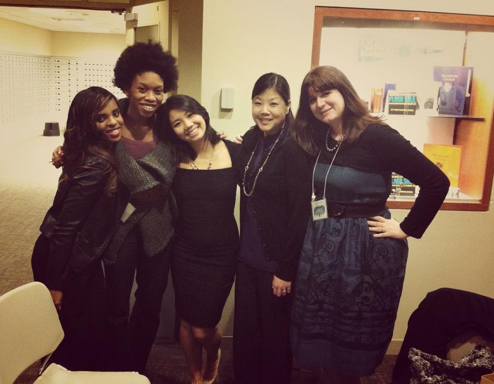 Aselefech, Angela, Fang, Nicole and Amanda