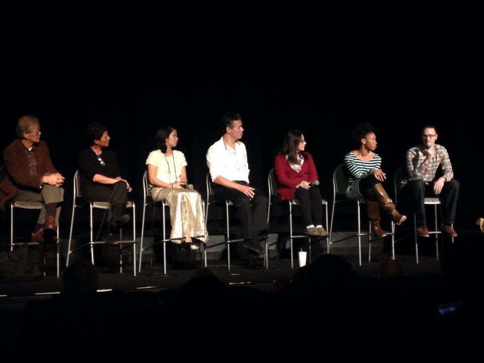 Filmmaker panel at the 2013 Minnesota Transracial Film Festival