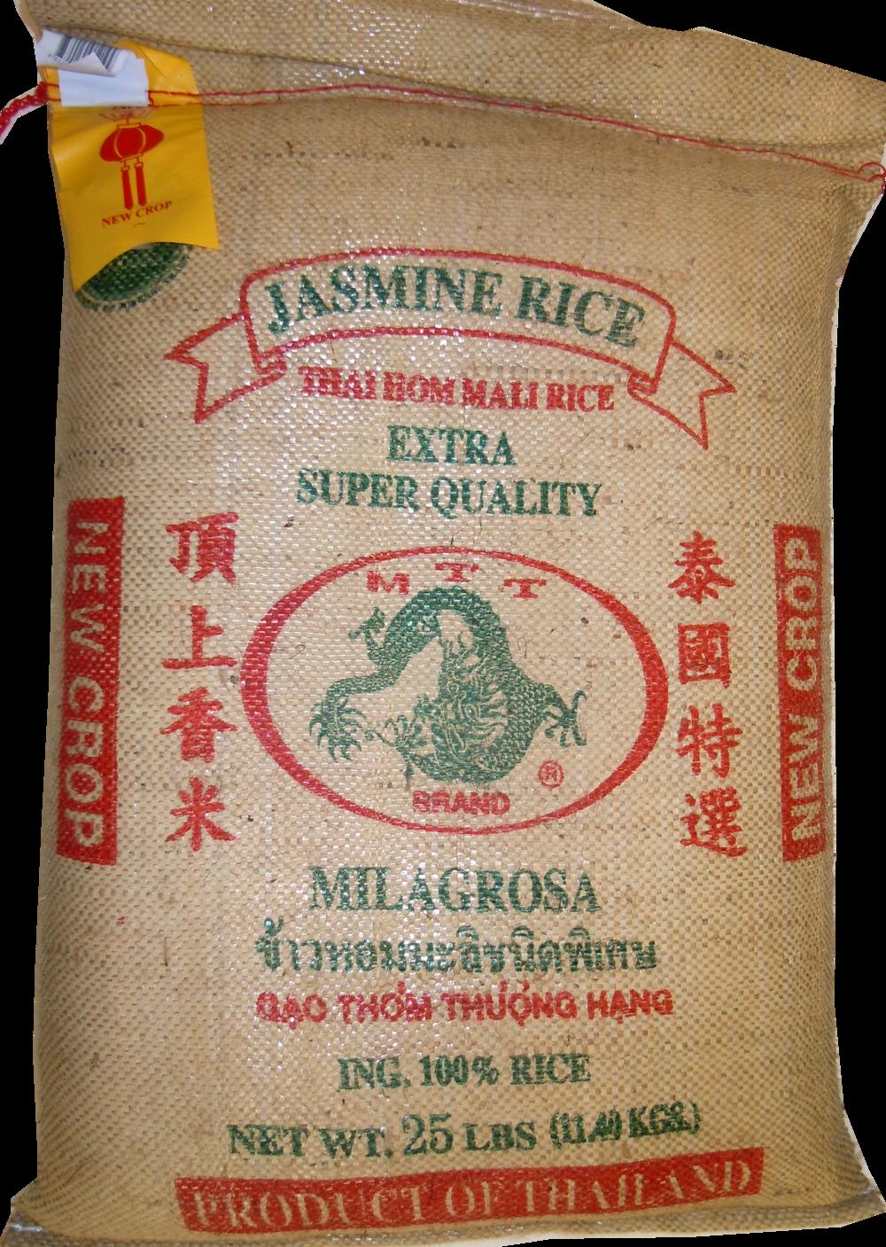 MTT Jasmine Rice