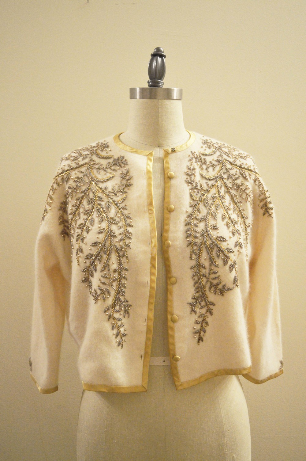 Cashmere beaded sweater gold trim front.jpg