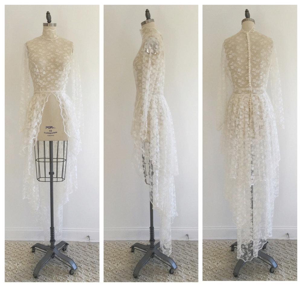 Victorian Lace Wedding Dress