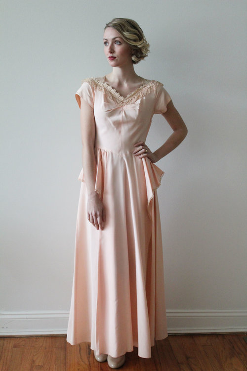 1940s tea in the garden party dress - Garden Party Dress