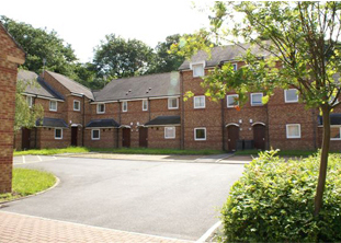 View of Townhouse Properties, Norfolk Park Student Village